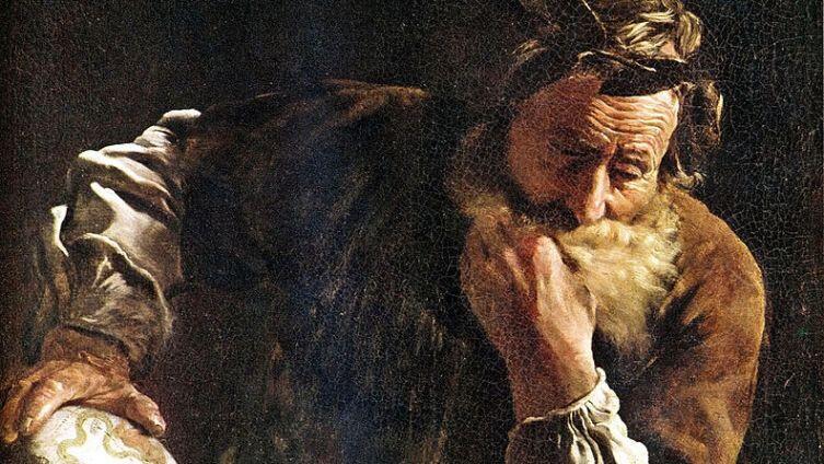 Доменико Фетти, «Архимед», фрагмент, 1620г.