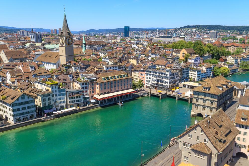 Город Цюрих