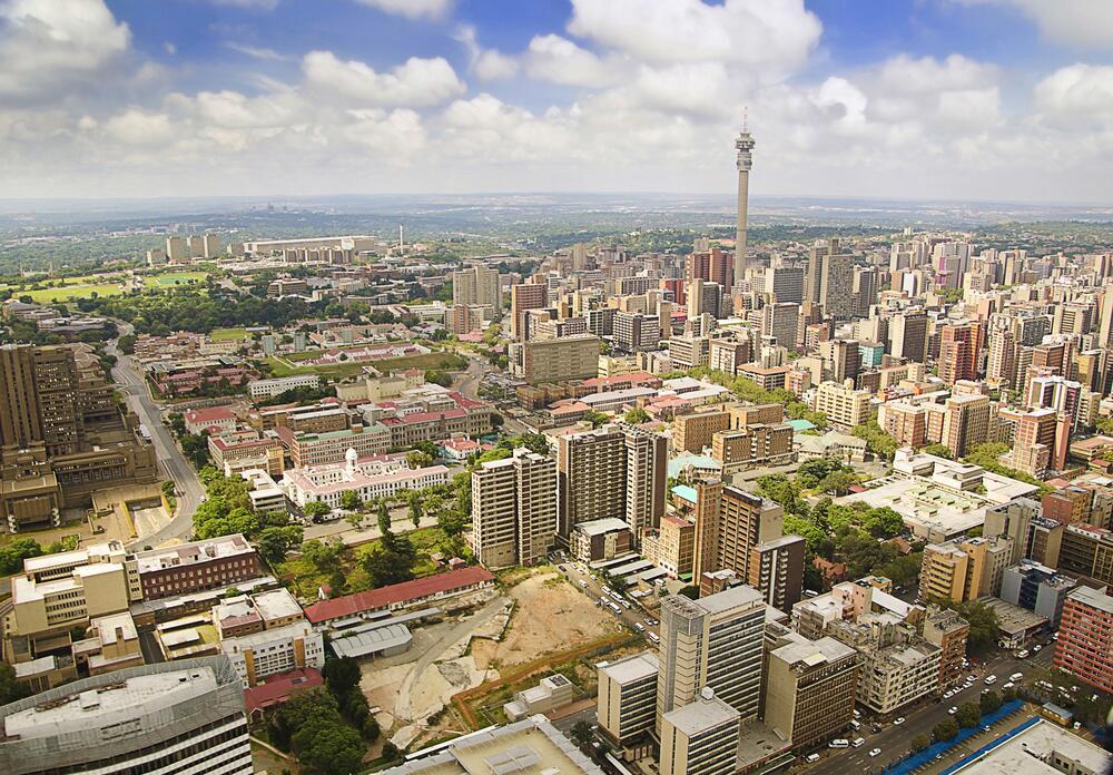 Город Йоханнесбург