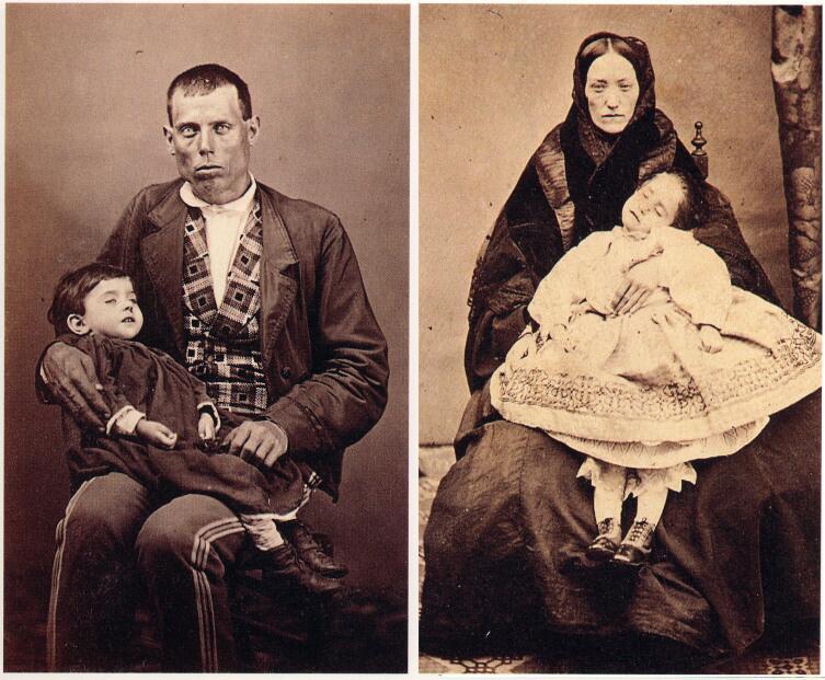 На этих фото умершие дети