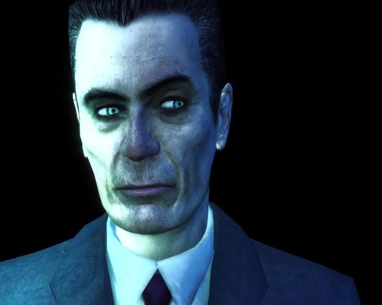G-Man из игры Half-Life