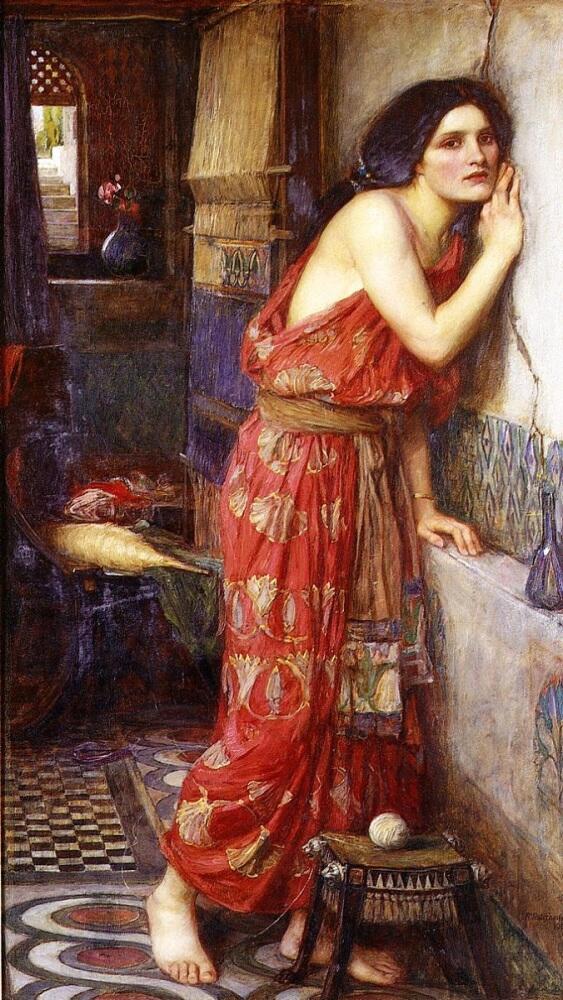 Джон Уильям Уотерхауз, «Фисба», 1909 г.