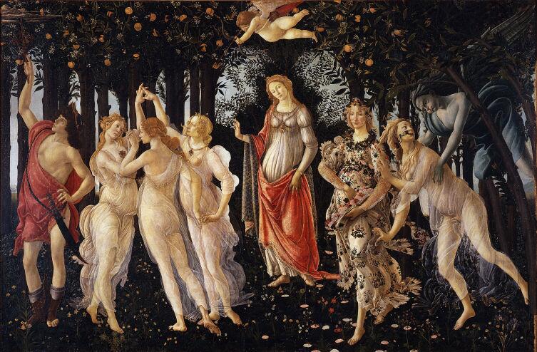 Сандро Боттичелли, «Весна», 1482 г.