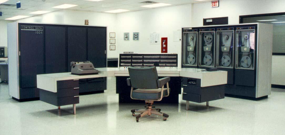 Суперкомпьютер CDC 1604