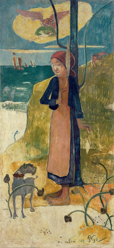 Поль Гоген, «Жанна д'Арк», 1889 г.
