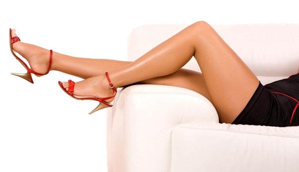 Гладкие ножки после лазерной эпиляции