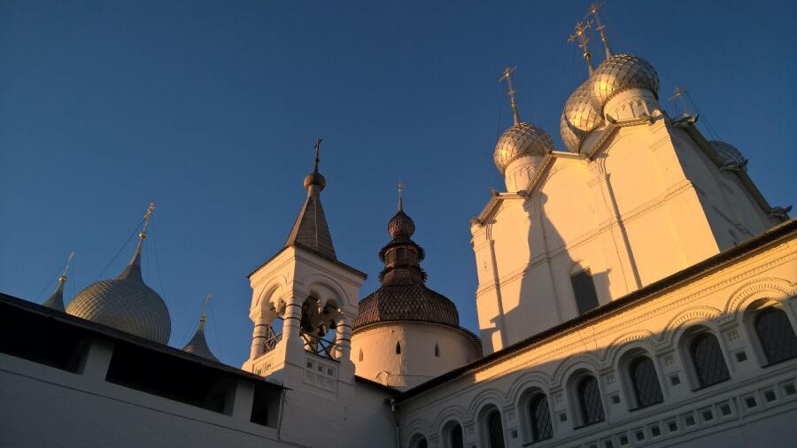 Кремль на закате