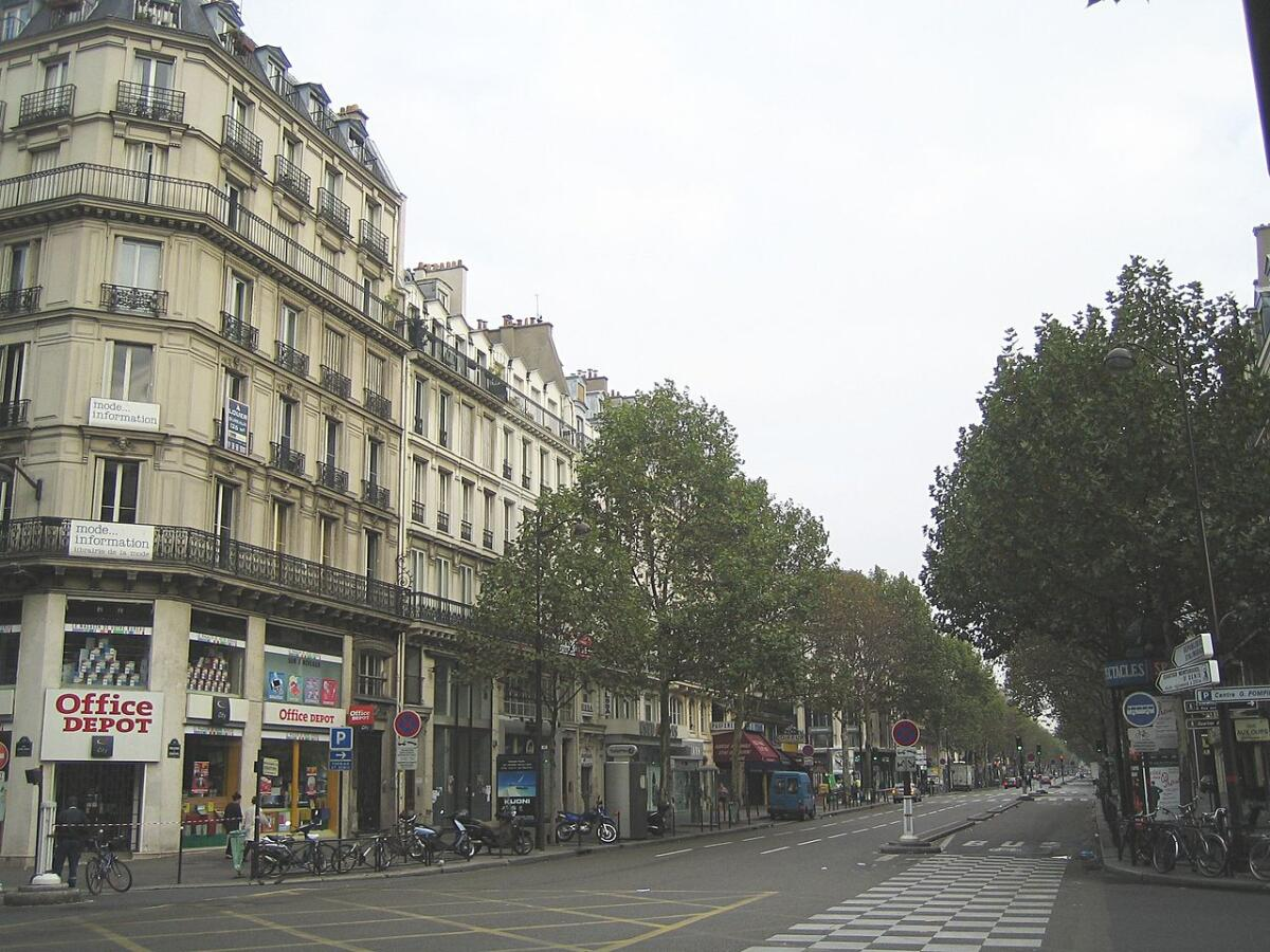 Бульвар-де-Себастополь в Париже