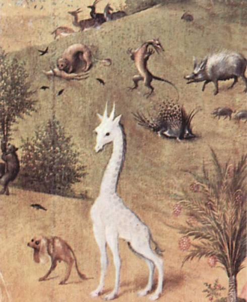 Фрагмент картины И. Босха, «Сад земных наслаждений», 1500-1510 гг.