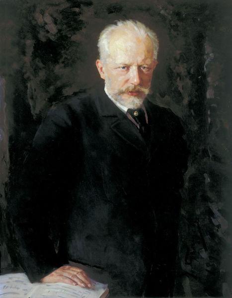 Н. Д. Кузнецов, «Портрет Петра Ильича Чайковского», 1893 г.