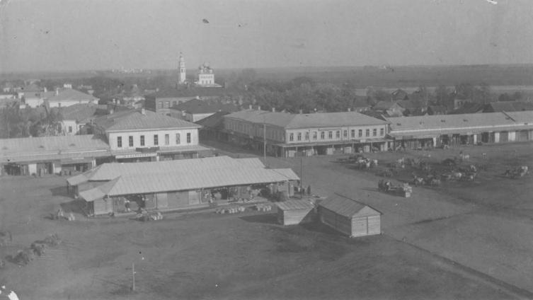 Северная часть Торговой (Сенной) площади, 1900-е годы