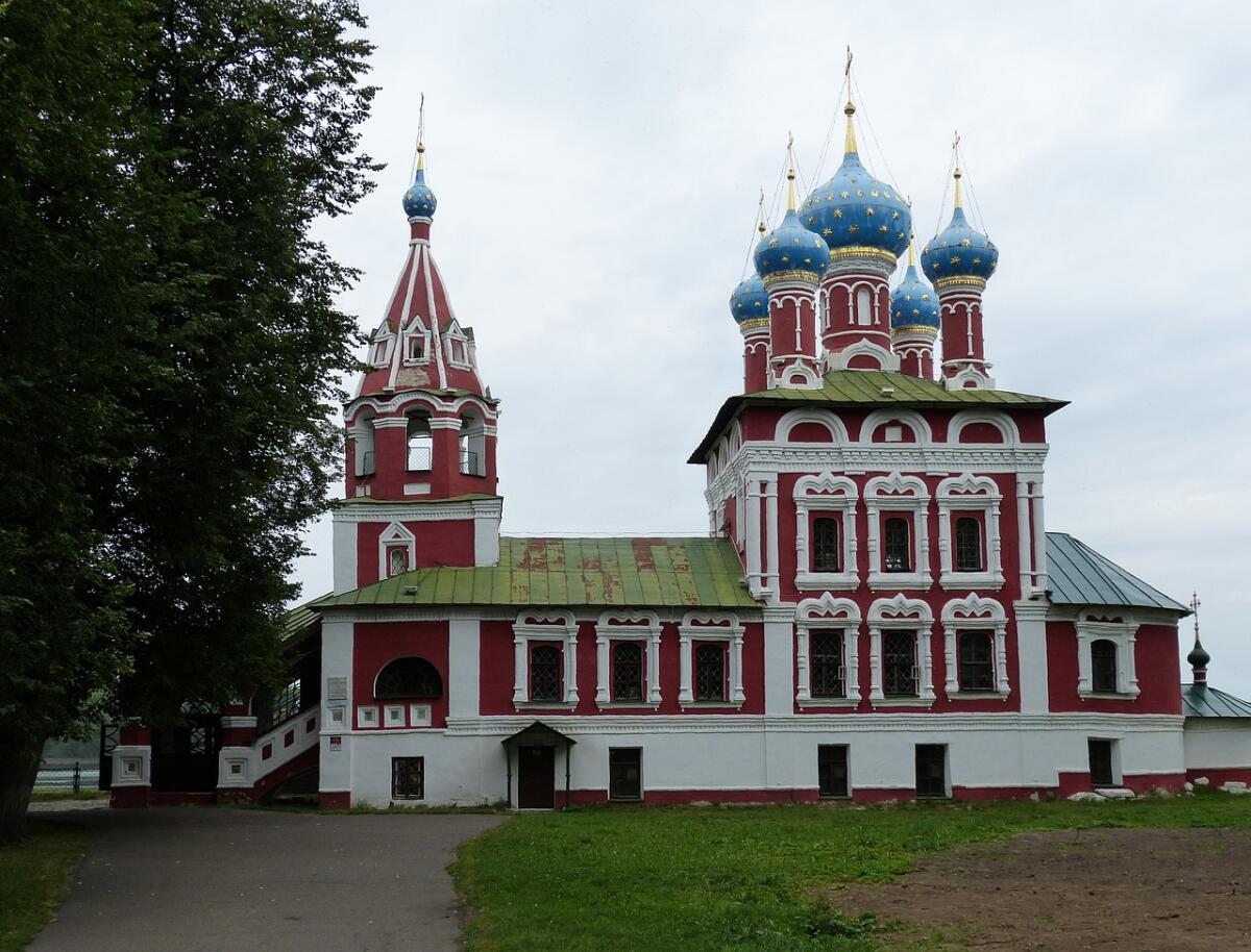 Церковь Димитрия на крови, Углич