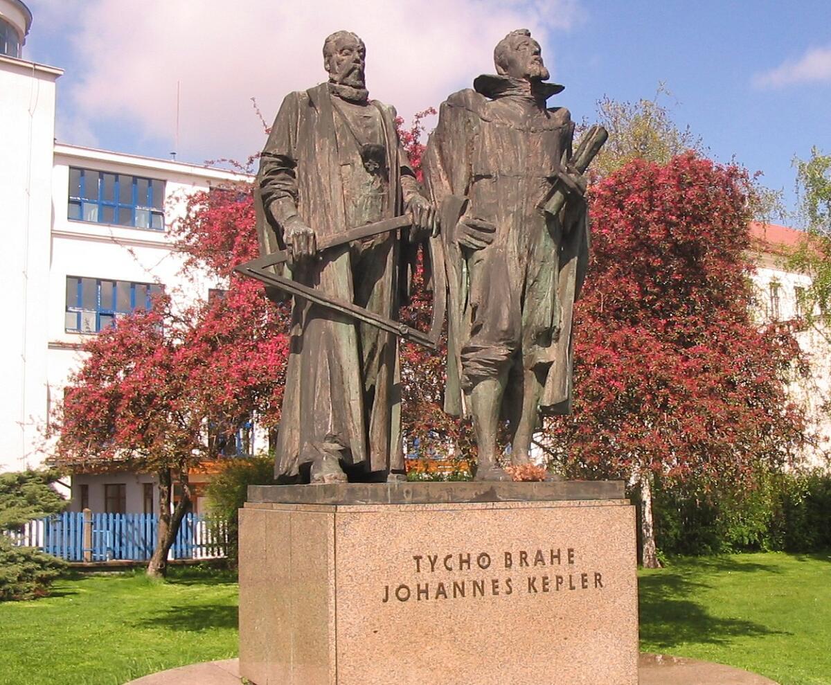 Памятник Кеплеру и Тихо Браге, Прага