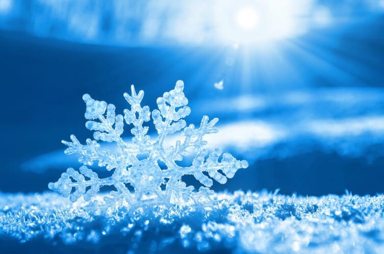 Шестиугольная снежинка
