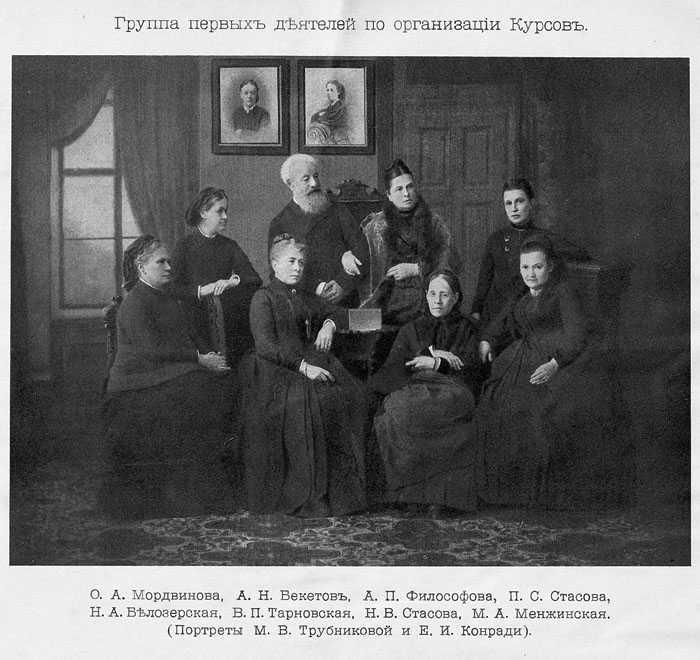 Когда женщины в России впервые получили доступ к высшему образованию?