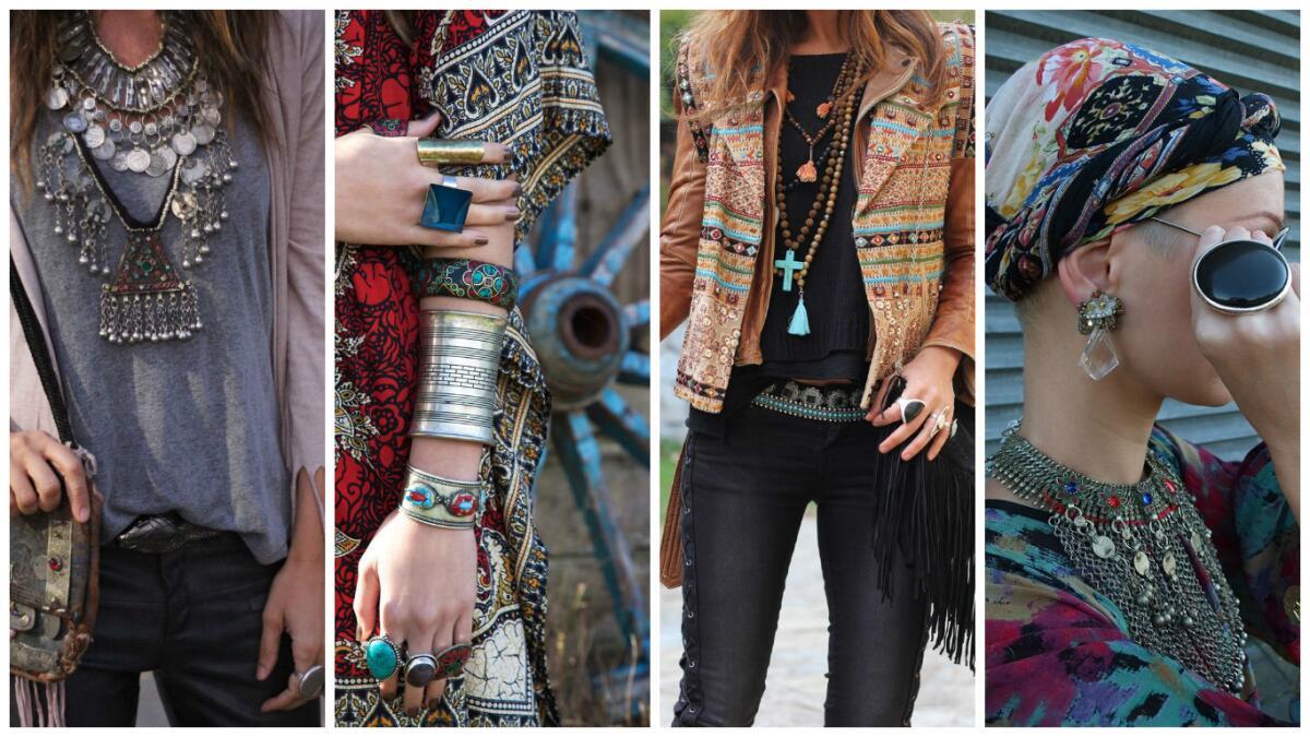 Как одеваться в стиле бохо?