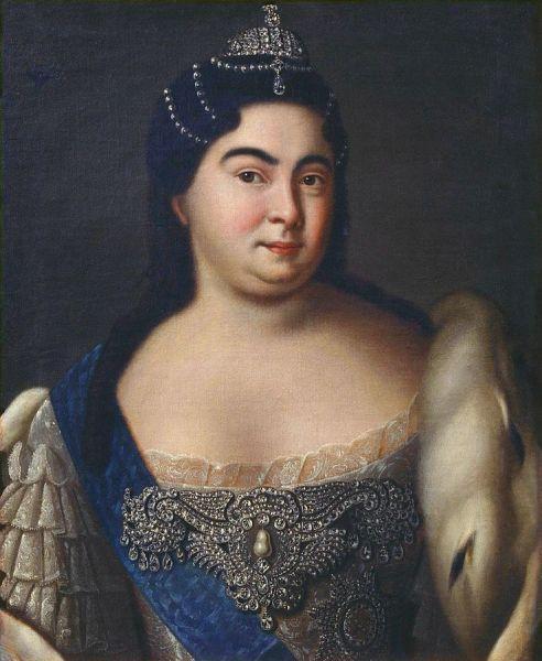Екатерина I. Портрет неизвестного художника
