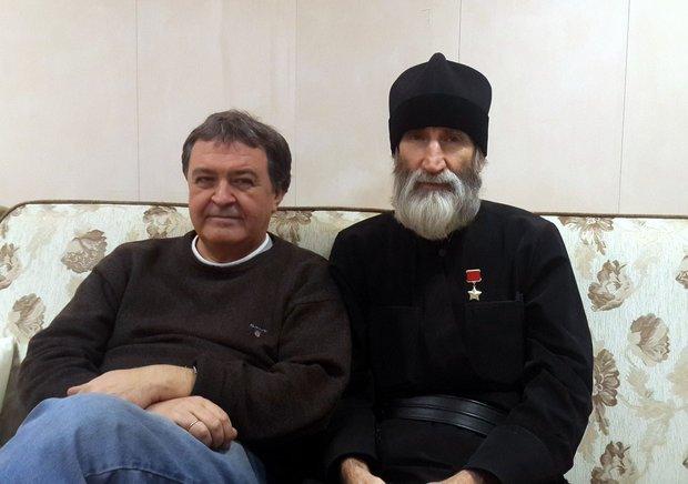 Дмитрий Лиханов и монах Киприан