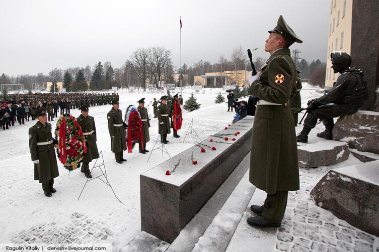 День Памяти в 21-й Софринской бригаде ВВ
