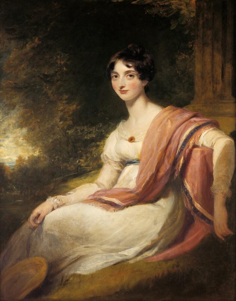 Томас Лоуренс, «Каролина Матильда Сотерон», 1808 г.