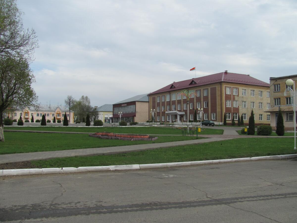 Беларусь, Славгород, центр города