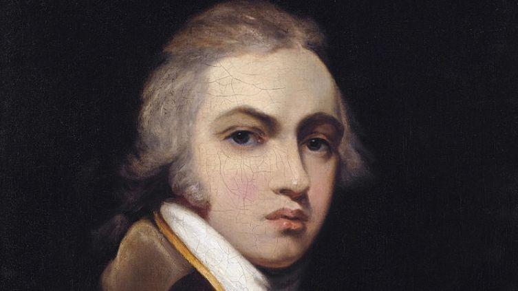 Сэр Томас Лоуренс, автопортрет, фрагмент, 1787 г.