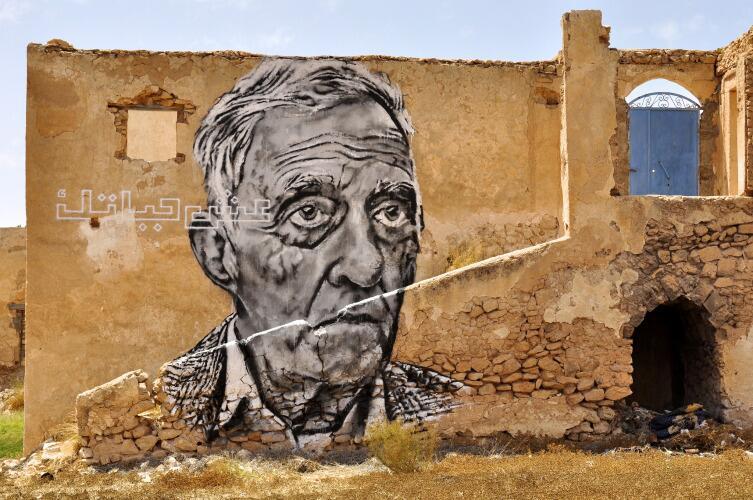 Граффити полностью преобразили внешний вид деревни