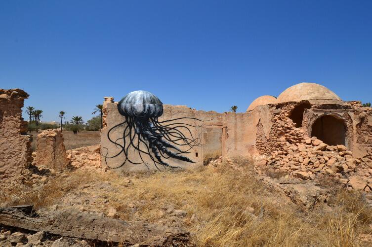 Некоторые жители считали, что граффити - акт вандализма