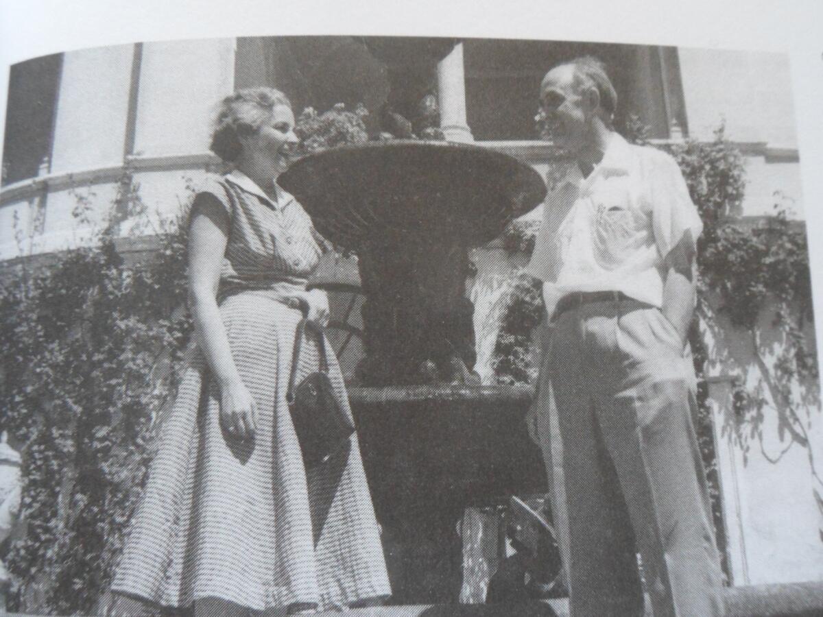 Ферми и его жена Лаура