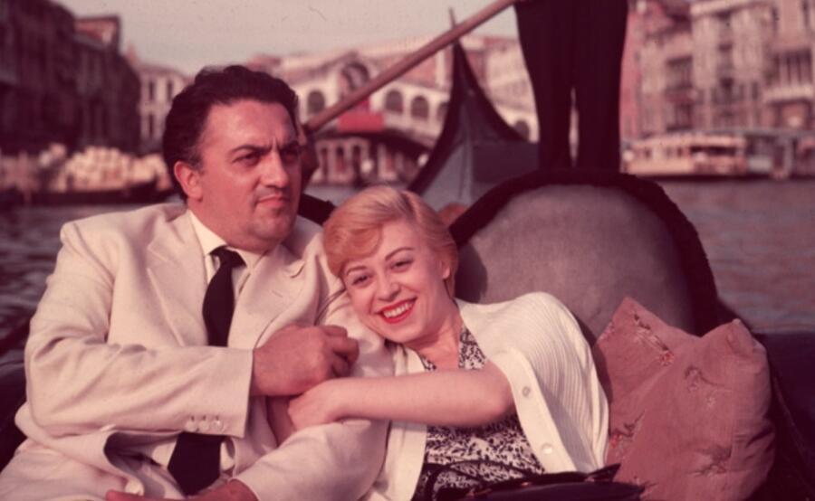 Федерико Феллини и Джульетта Мазина. Что такое любовь?