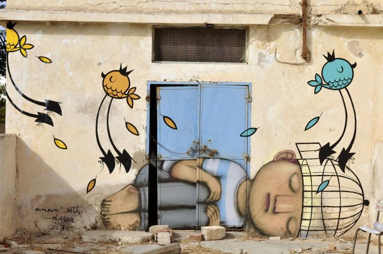 Граффити от известных мировых художников в проекте Джербахуд