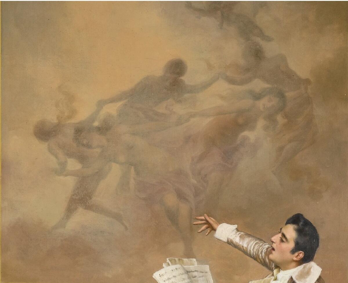 Федерико Андреотти, Концерт, фрагмент