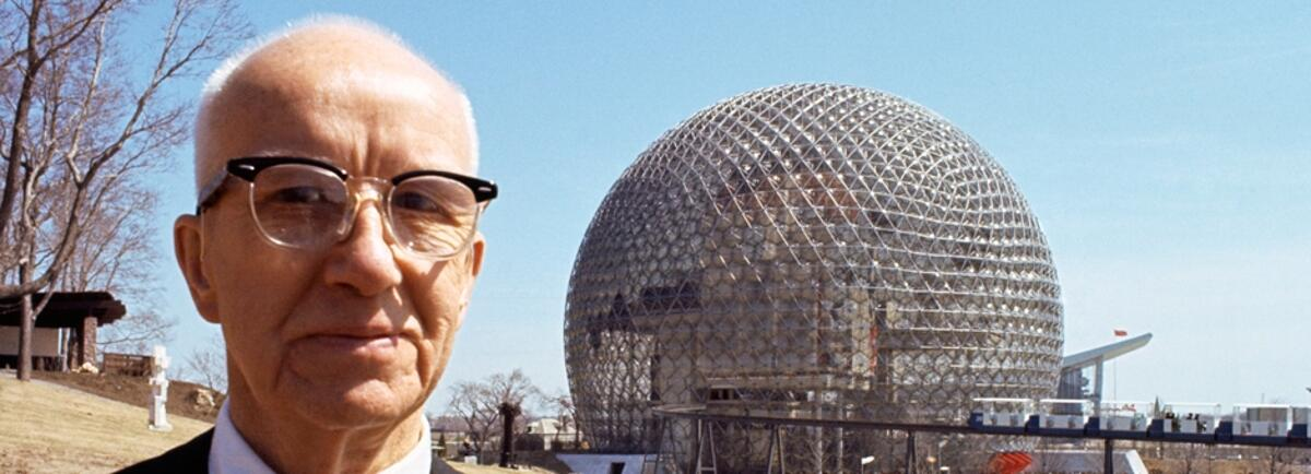 Ричард Бакминстер Фуллер и его геодезический купол
