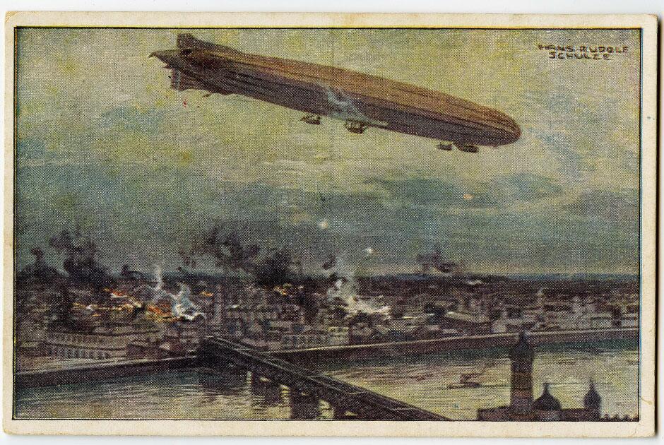 Немецкая почтовая открытка