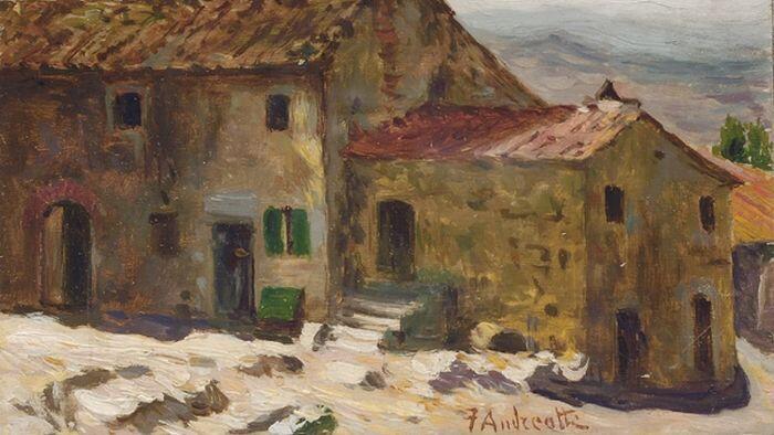 Федерико Андреотти. Почему он писал картины, стилизованные под ушедший век?