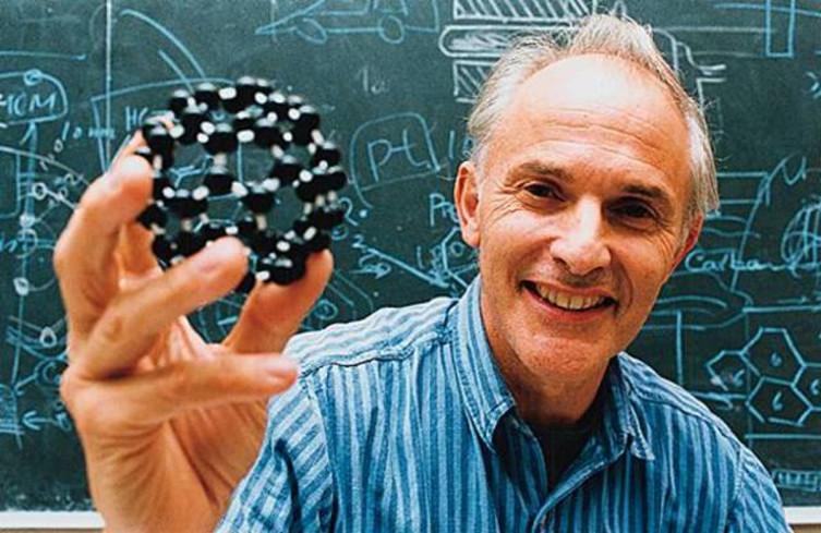 Гарольд Крото и модель молекулы фуллерена