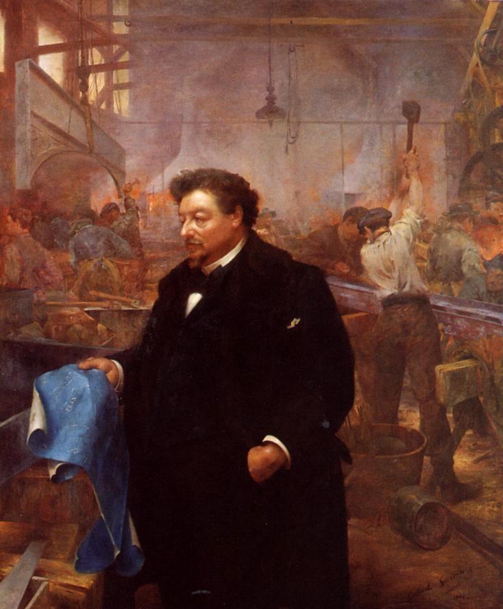 Габриэль Герен, «Гюстав Эйфель», 1900 г.