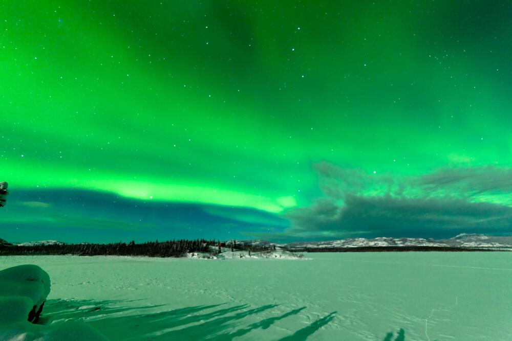 Какие тайны скрывает земля саамов? 1. Северное сияние