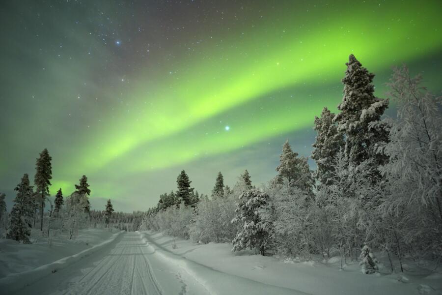 Какие тайны скрывает земля саамов? 2. Магнитосфера