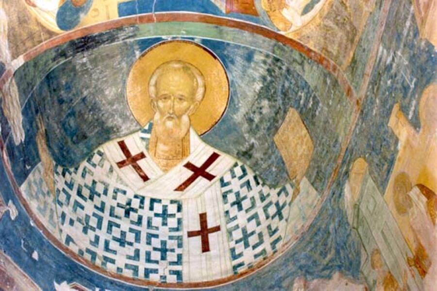 Фреска собора Ферапонтова монастыря