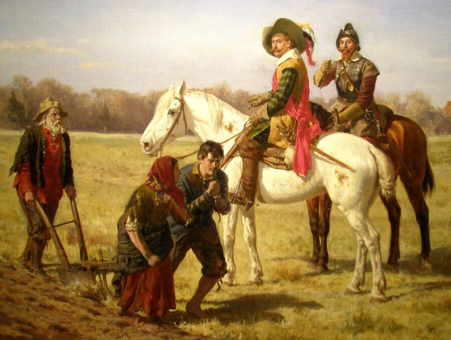 Вернер Шух, «Крестьяне и кавалеристы»