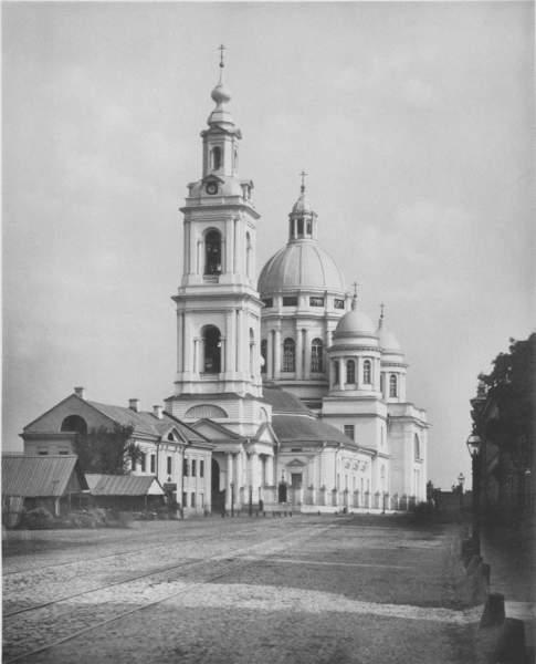 Собор на фотографии Николая Найдёнова 1882 г.