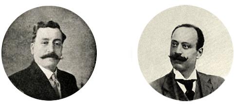 Эдуардо ди Капуа и Джованни Кэперро