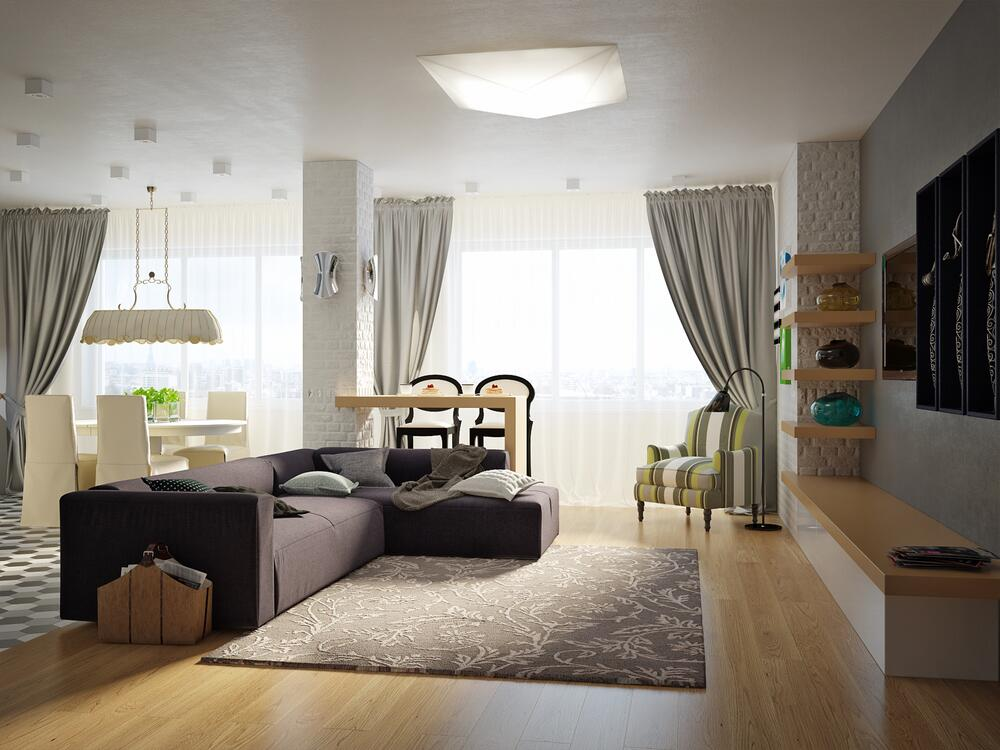 Квартира-студия: как создать удобное пространство?