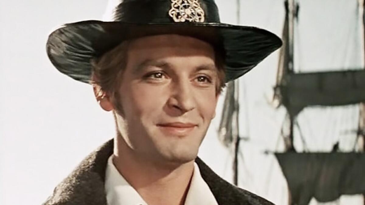 Василий Лановой в роли Грея, фильм «Алые паруса», 1961 г.