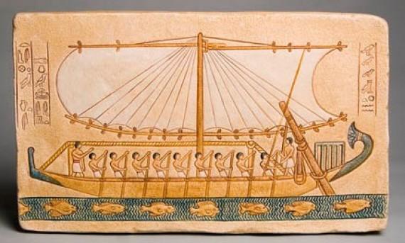 Из чего делают корабли? 1. Суда из соломы
