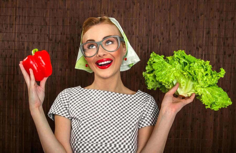 Как сделать вкусный салат из двух ингредиентов?