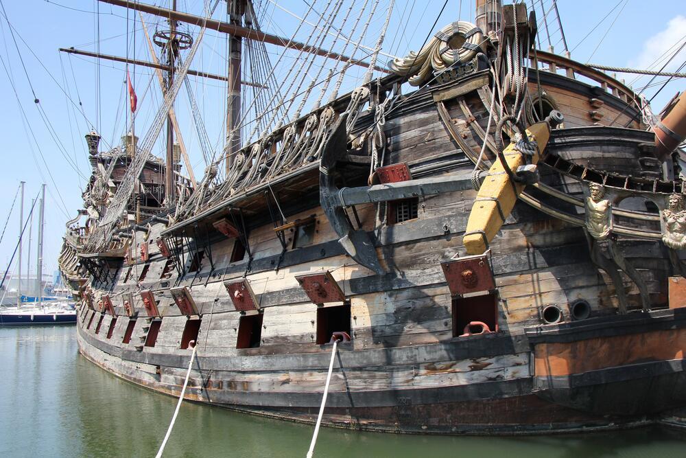 Из чего делают корабли? 2. Эра деревянных судов
