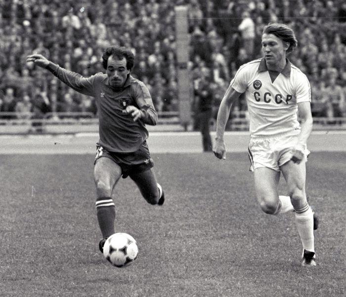 Олег Блохин, СССР, Динамо Киев, 1980 г.