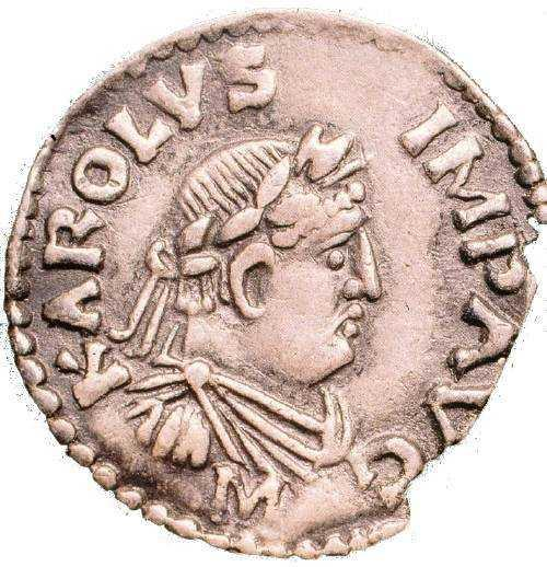 Монета Карла Великого